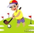 Kids Golf Clip Art | Clipart Panda - Free Clipart Images Kid Golfer Clipart
