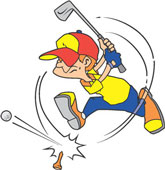 Junior Clipart | Clipart Panda - Free Clipart Images Kid Golfer Clipart