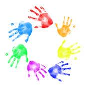 Clip Art Handprint Clipart kids handprint clipart panda free images