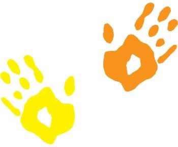 Kids Handprint Clipart | Clipart Panda - Free Clipart Images