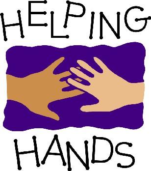 Helping hand clip art
