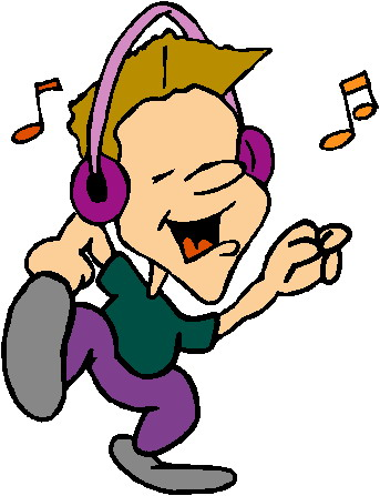 Girl Listening To Music Clipart   Clipart Panda - Free ...