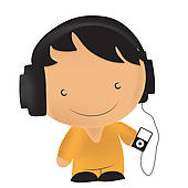 kids%20listening%20to%20music%20clipart