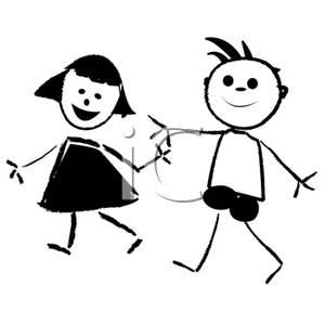 Free Clip Art Children Black And White | Clipart Panda - Free ...