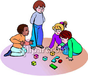 Kids Playing Blocks Clipart | Clipart Panda - Free Clipart Images