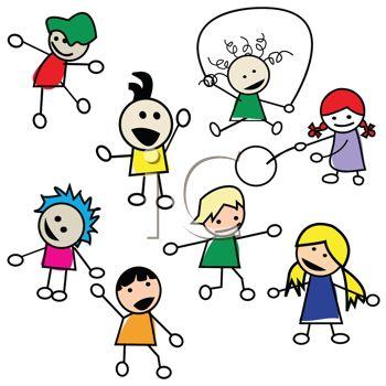 Kids Playing Outside Clipart | Clipart Panda - Free ...