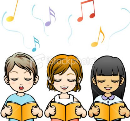 Kids Singing Clipart kids 20singing 20clipart