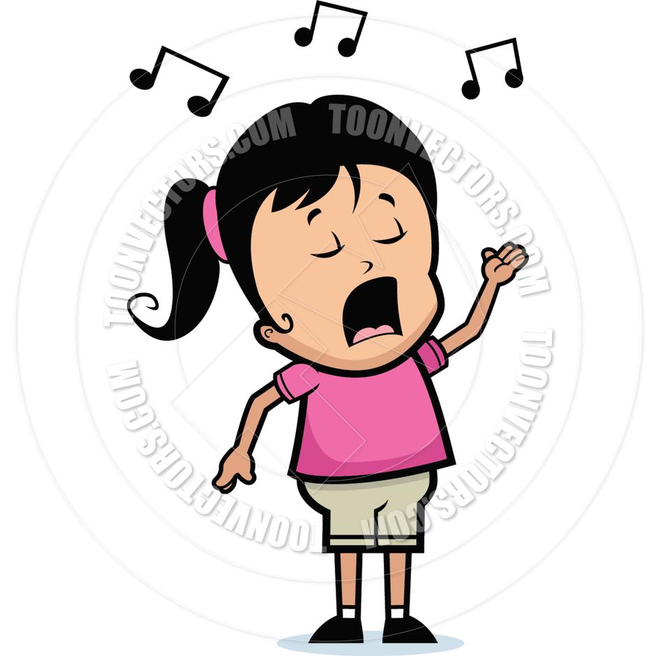 child singer clipart - photo #10