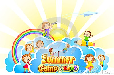Kids Summer Camp Clipart Clipart Panda Free Clipart Images