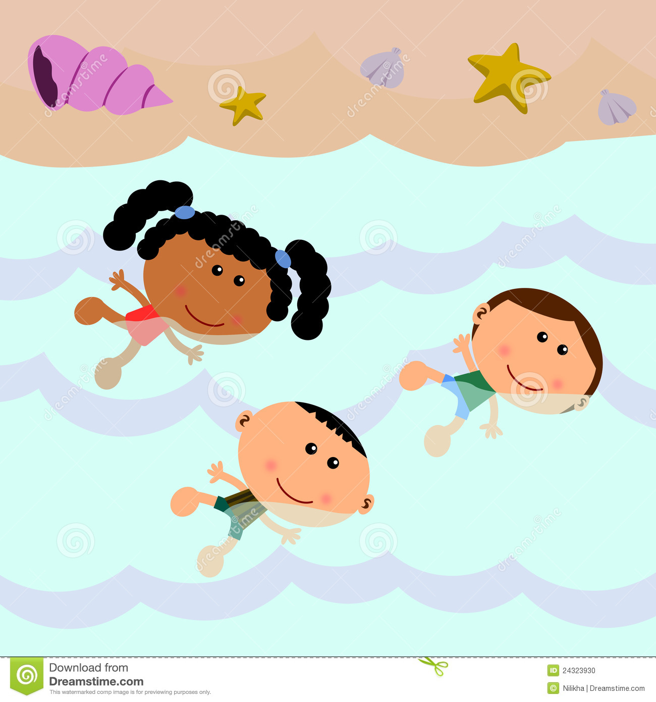 Kids Swimming Clipart | Clipart Panda - Free Clipart Images