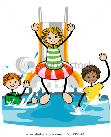 Kids swimming pool clipart clipart panda free clipart images