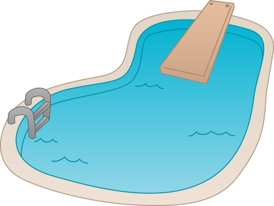 Drawing Swimming Pools : Kids swimming pool clipart panda free