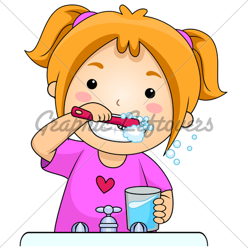 brushing teeth clip art kid clipart panda free clipart images rh clipartpanda com brush teeth clipart images brush teeth clipart black and white