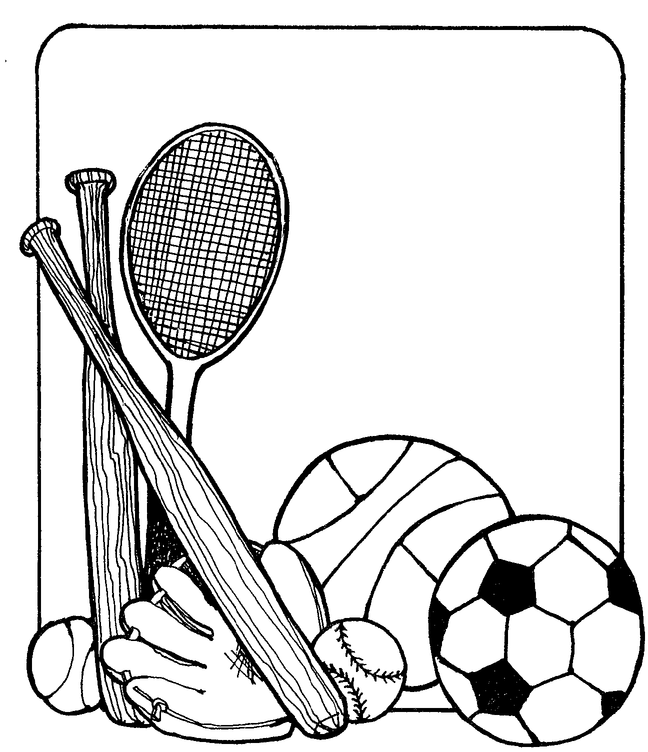 Sports Equipment Clip Art | Clipart Panda - Free Clipart Images