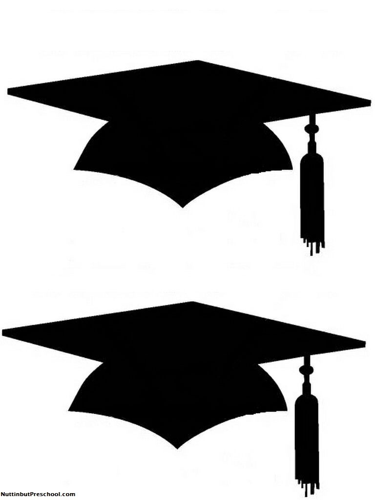 Kindergarten Graduation Clip Art Black And White Clipart