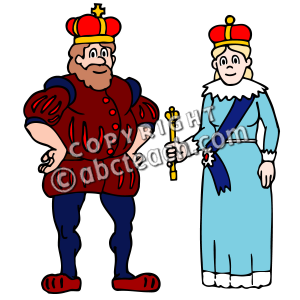 Clip Art King And Queen Clipart black king and queen clipart panda free images clipart