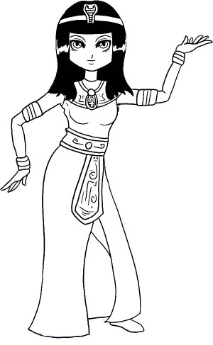Ancient Egypt Coloring Pages #3