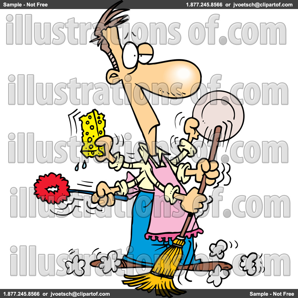 free clipart kitchen cleaning - photo #9
