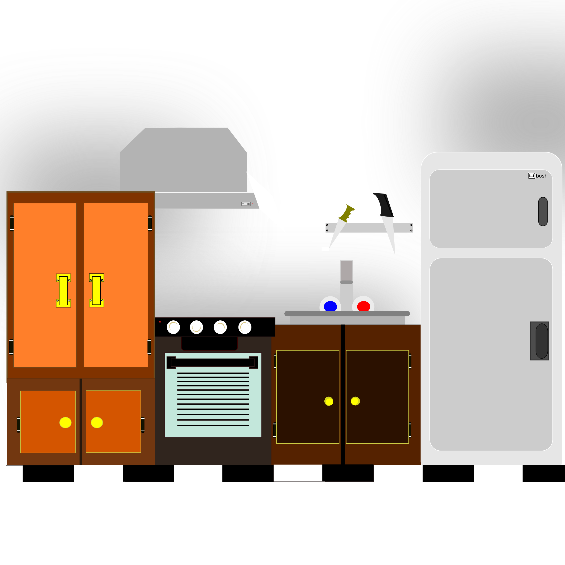 Kitchen Room Furniture Clipart: Kitchen Clip Art Images Free