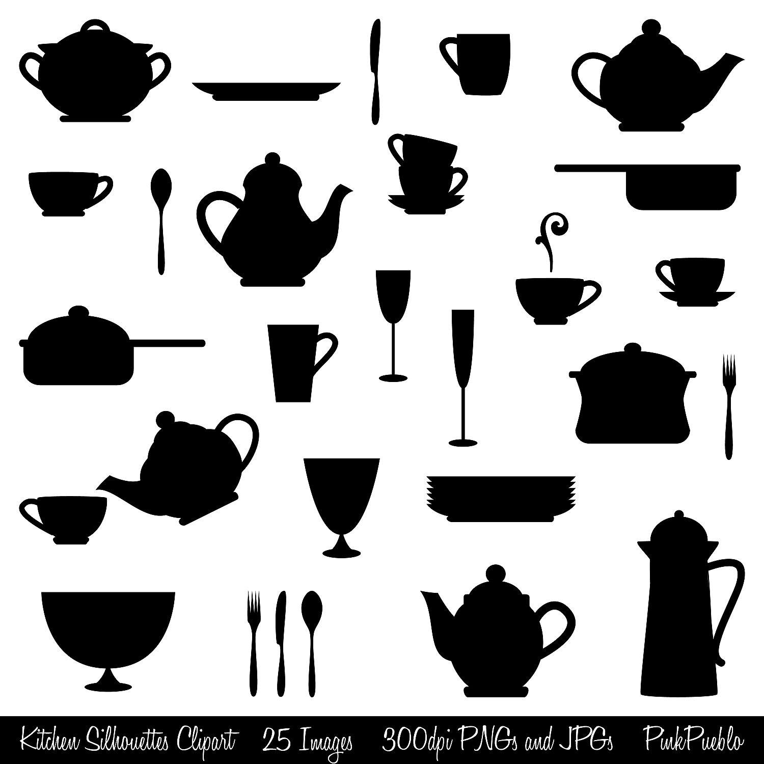 Kitchen Window Clip Art: Kitchen Clip Art Black And White