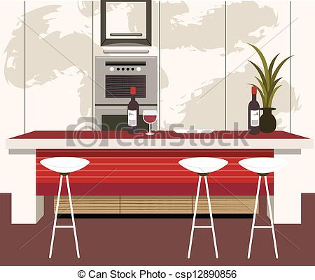 Modern Kitchen Clipart Vector Clipart Panda Free Clipart Images