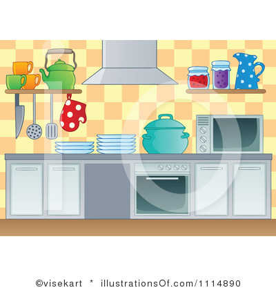 Kitchen clipart clipart panda free clipart images for Kitchen room cartoon images