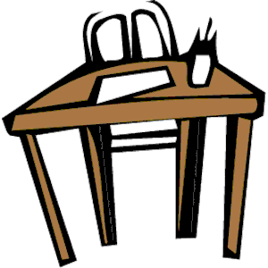 Table And Chairs Clipart Top View Clipart Panda Free Clipart - Table and chairs clipart