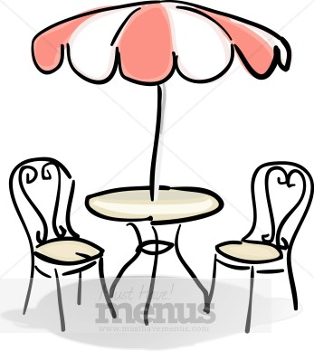 Kitchen Table And Chairs Clipart Clipart Panda Free