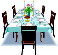 Table And Chairs Clip Art   Clipart Panda - Free Clipart ...