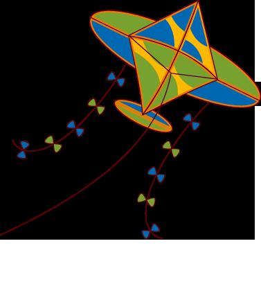kite clip arts