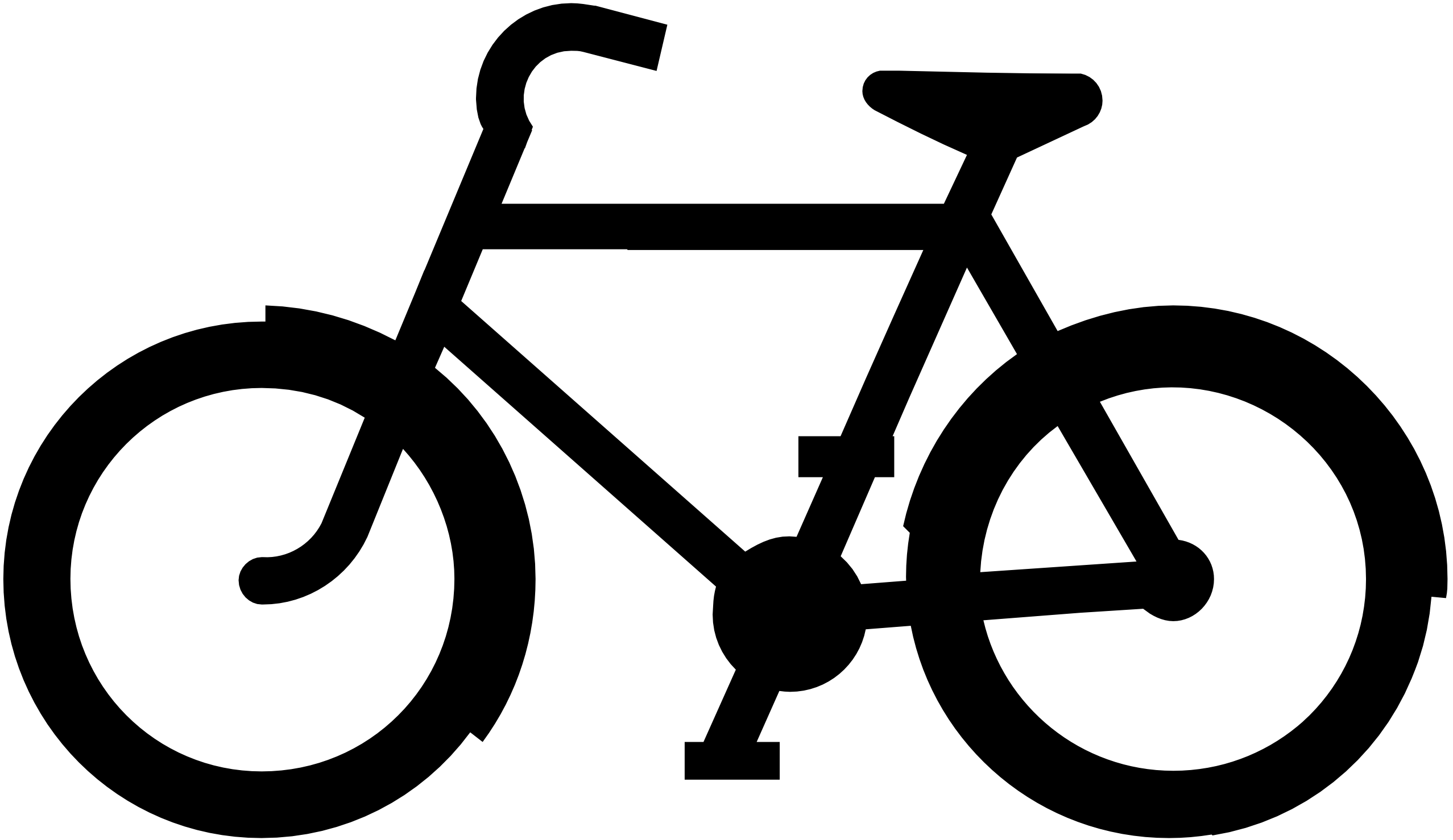 Bike Clip Art kite clipart black and