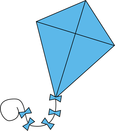 Clipart Of A Kite