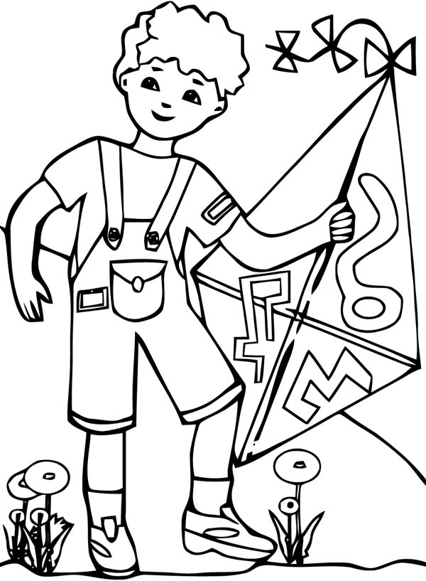 kite-coloring-pages-Little-Boy-with-His-Kite-Coloring-Page.jpg