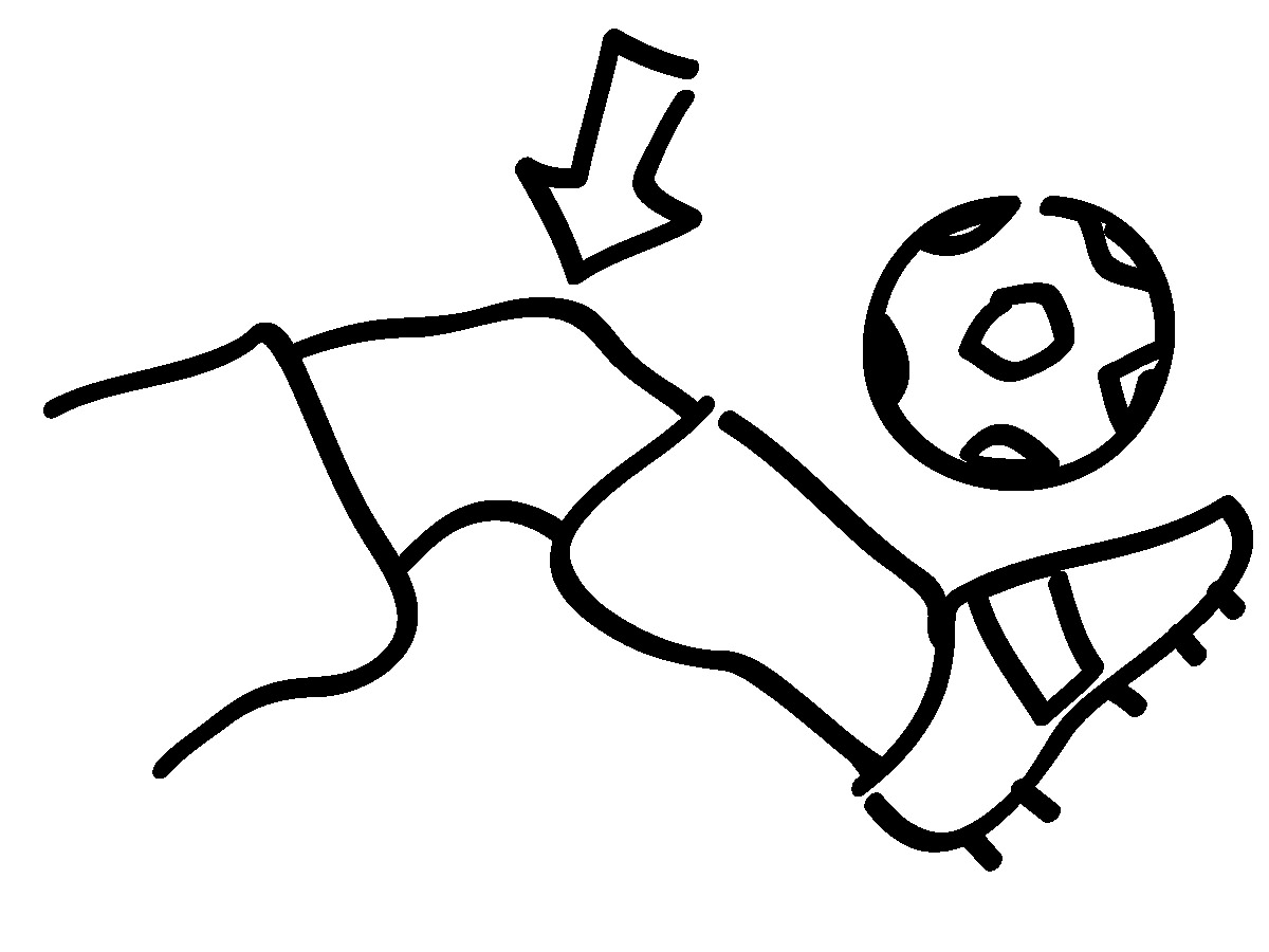coloring pages knees - photo#2