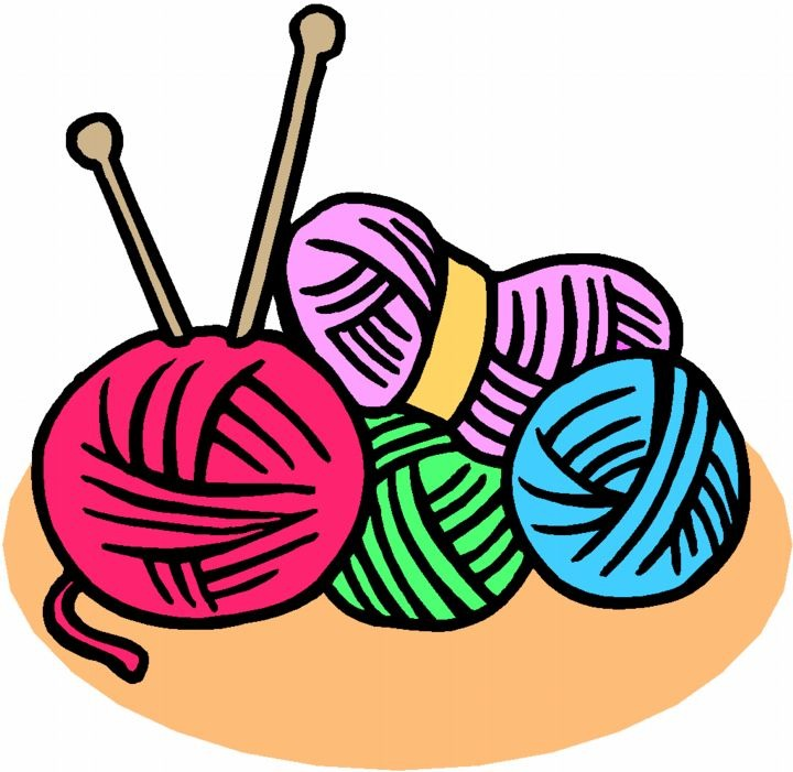 Knitting Needles Clip Art : Knitting clipart panda free images