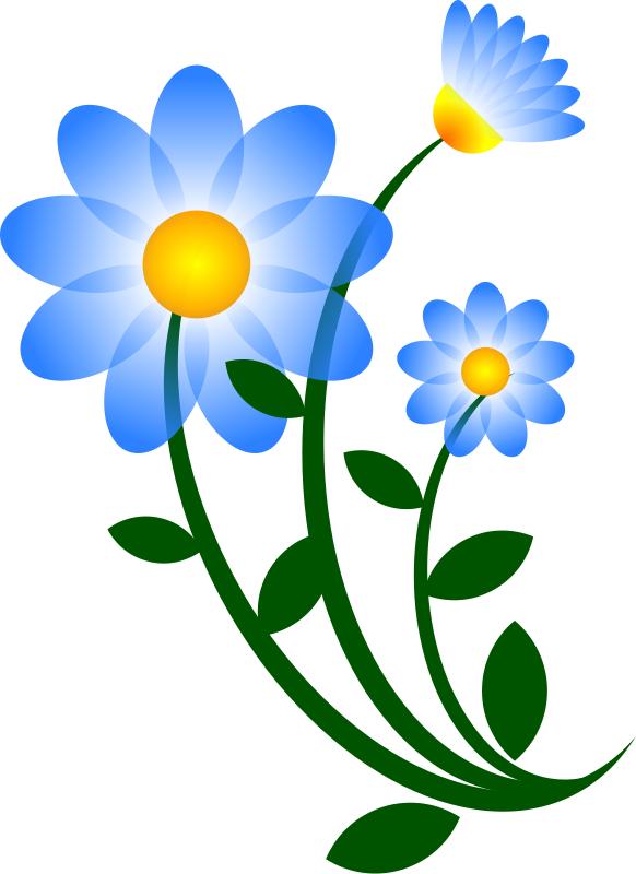 Flower Motif Clip Art