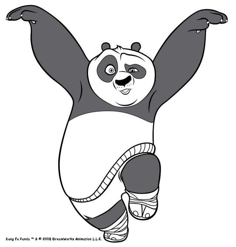 spacer po the kung fu panda clipart panda free clipart images. Black Bedroom Furniture Sets. Home Design Ideas