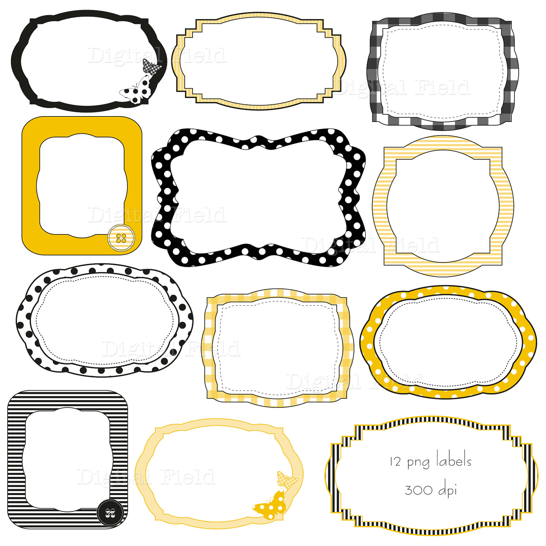 label clip art templates clipart panda free clipart images