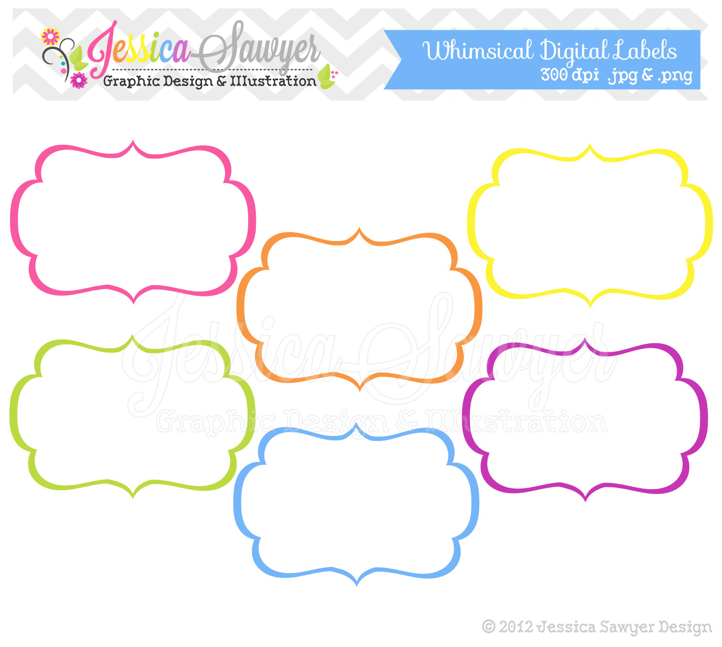 whimsical frame clipart | clipart panda - free clipart images