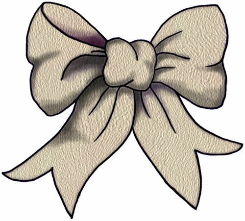 lace bow clipart - photo #8