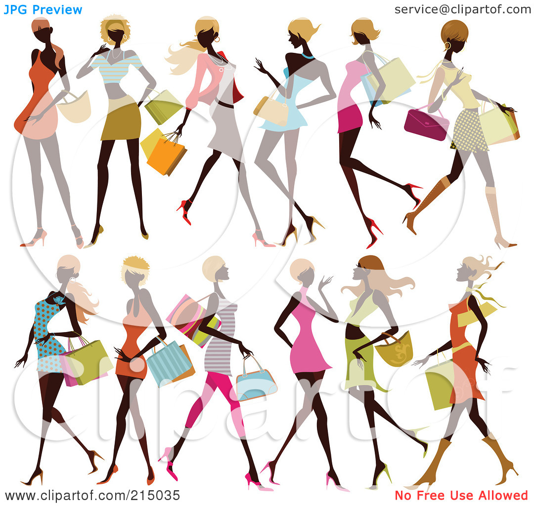 Fashion For Women Clip Art - Ladies 20fashion 20clipart