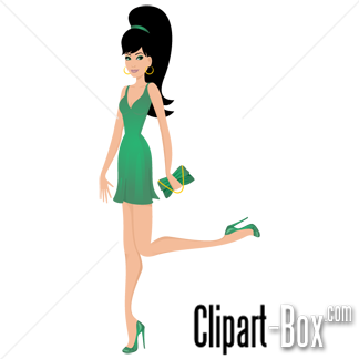 Ladies Fashion Clipart