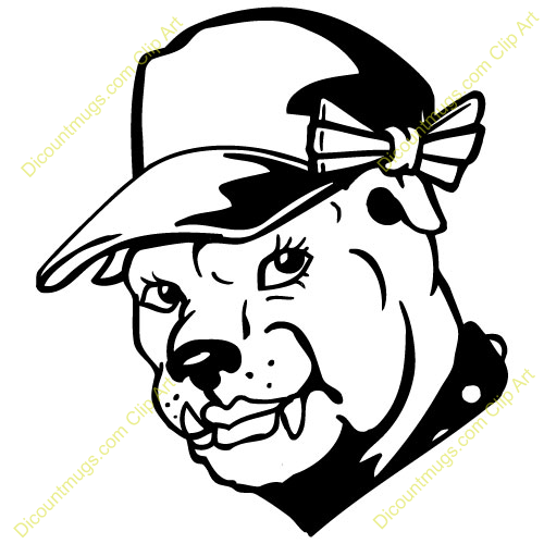bulldog mascot clipart clipart panda free clipart images rh clipartpanda com Bulldog Mascot Clip Art Black and White friendly bulldog mascot clipart