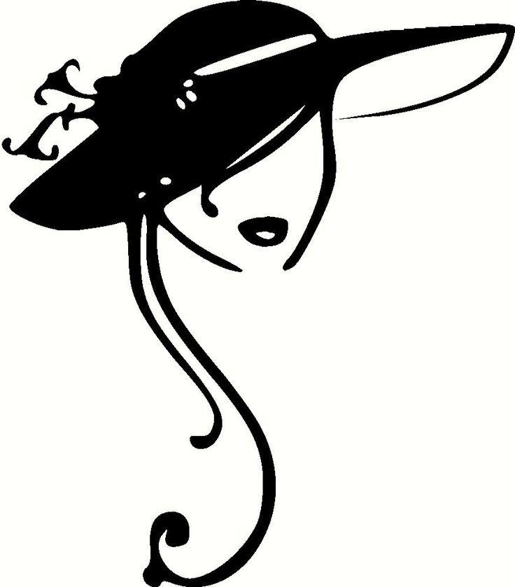 vintage ladies hats clip art clipart panda free clipart images rh clipartpanda com lady clipart face lady clipart face