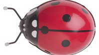 Lady Bug Face Paint For Halloween