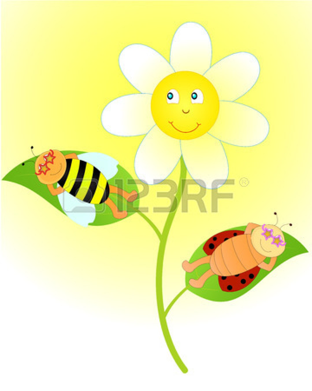 Ladybug On Flower | Clipart Panda - Free Clipart Images