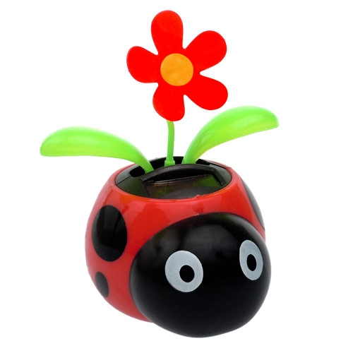 Solar Dancing Flower - Ladybug | Clipart Panda - Free ...