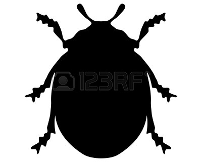 Ladybird silhouette | Clipart Panda - Free Clipart Images