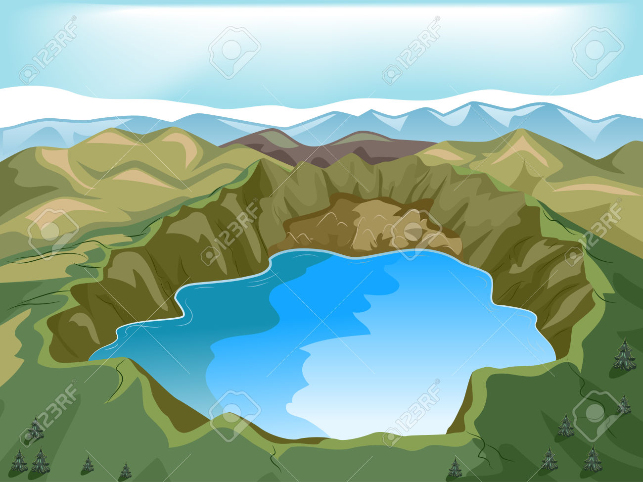lake clipart - photo #33