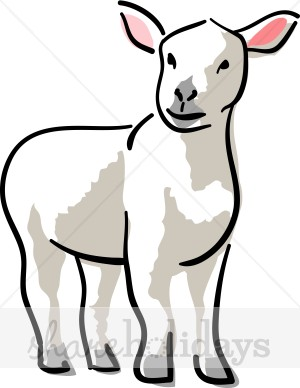 lamb%20clipart%20black%20and%20white
